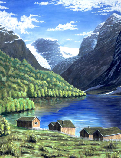 Spring on the Fjord
